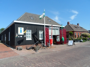 The fishing museum was once a bouy maintenance shed and store