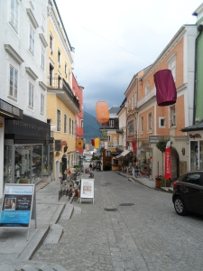 Even under heavy skies Gmunden felt like a jolly town.