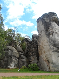 The scale of the rocks at the entrance to Ardspach were impressive