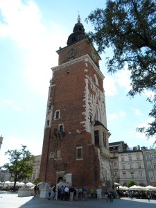 The 15th century Town Hall Tower