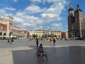 Rynek Glowny is the largest medieval town square in Europe