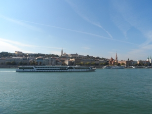 From Pest looking towards Buda