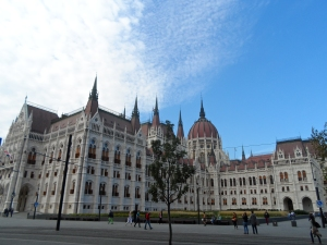 The impressive Parliament building