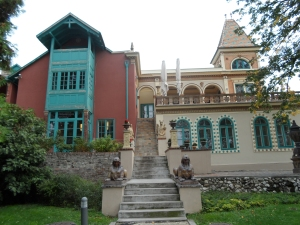 The Zsolnay house was right at the heart of the pottery complex