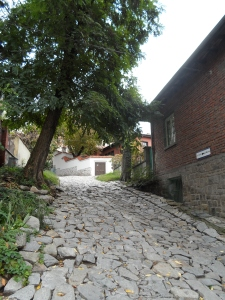 Paved streets in the Old Town