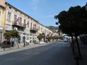 Veliko Tarnavo's main shopping street